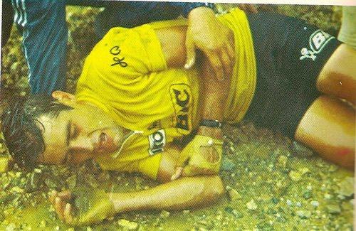 Luis Ocaña y la famosa caida en el Col de Portet d´Aspet TdF 1971