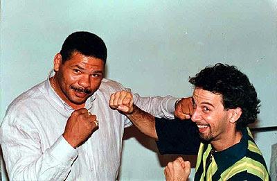 Maguila e João Barone