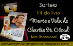 Sorteio - Kit do livro Morte e Vida de Charlie St. Cloud