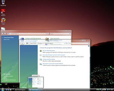 Windows Vista Ultimate Screenshot