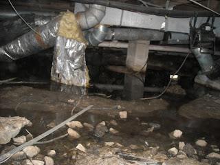 american basement solutions musty odor or sewage leak in crawl