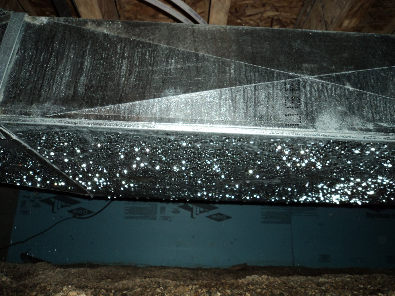 Crawl Space Duct : American basement solutions crawlspace condensation