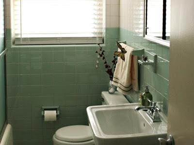 green guest bath