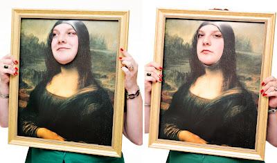 Mona Lisa, Rachel style