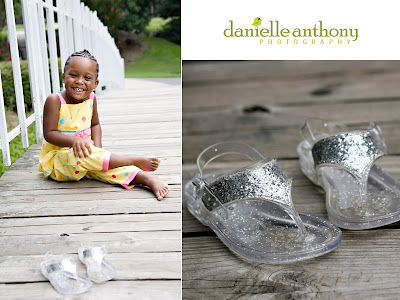 check out the glitter shoes