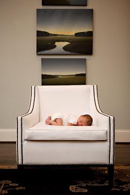 lifestyle baby portrait