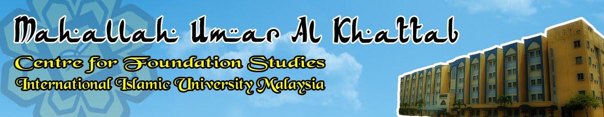 Mahallah  Umar Al Khattab I, CFSIIUM