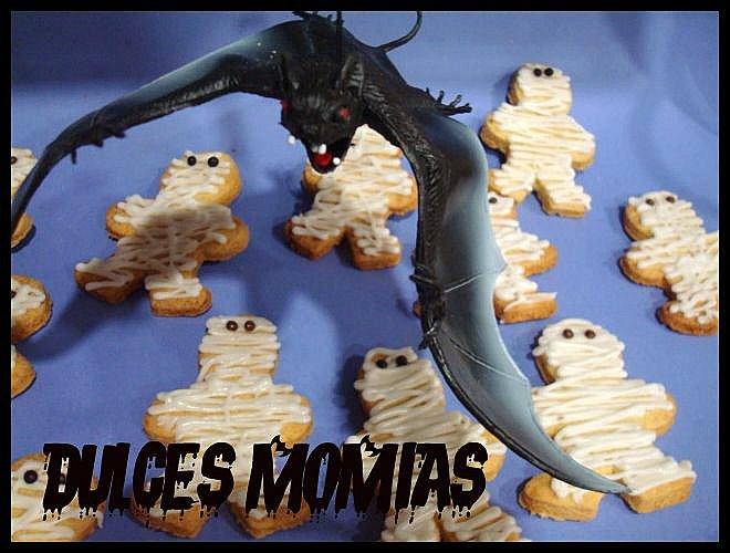 Petit gâteau momies Momi