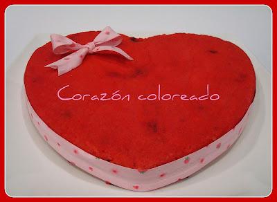 gateau en forme de coeur - Page 2 Corazon+pintado
