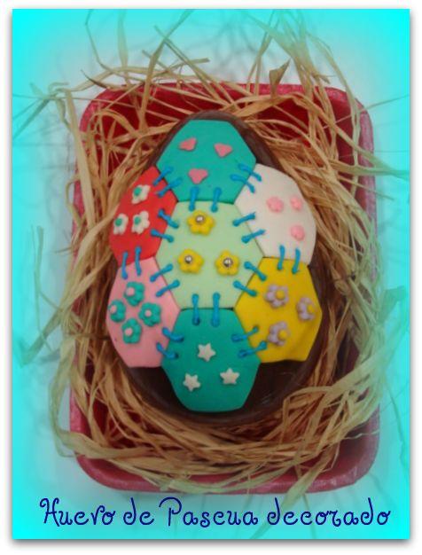 oeuf de pâques Huevo+decorado