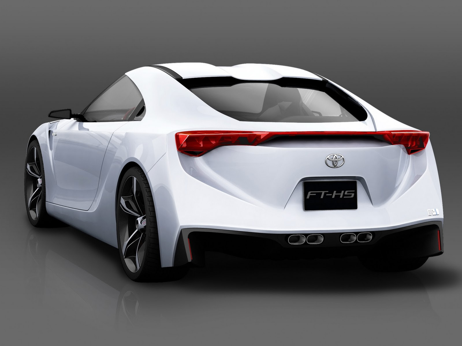 Delightful Toyota FT HS Concept Cars HD