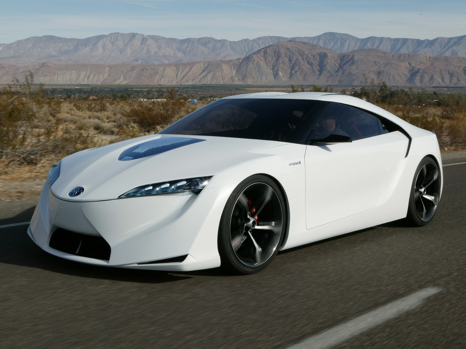 Toyota FT Concept Rear View HD Wallpaper