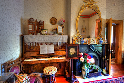 Room in Emily Carr House, Victoria, BC, Canada