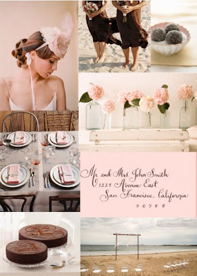 Chamomile and Peppermint Blog - Blog Love Feature - Polka Dot Bride - An Australian wedding blog full of inspiration and ideas - Pink, brown and grey