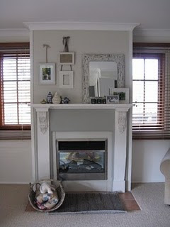 Chamomile and Peppermint Blog - Interior Inspirations - Indigo Obsession Blog - grey and white fireplace