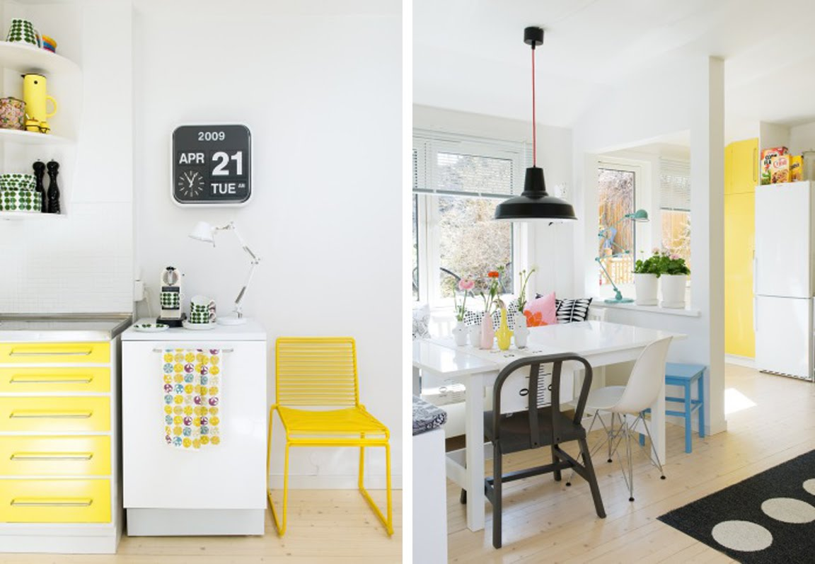 black white yellow the perfect black white and yellow kitchen