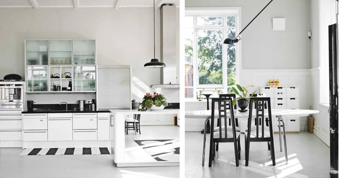 black white yellow black and white kitchen inspiration