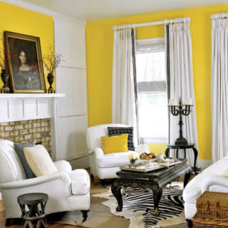 Living Room on Black White Furniture In Yellow Living Room Htours0207 De Jpg