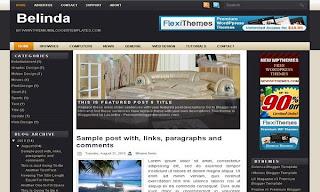 Belinda: Free Blogger Template
