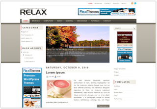 Blogger Template Relax