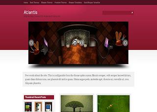 Atlantis blogger templates