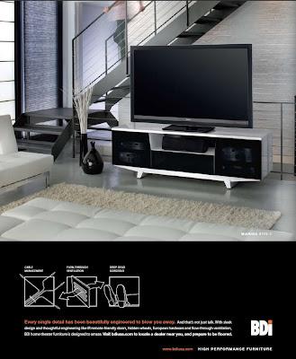 bdi vision plasma tv stand