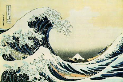 The Great Wave off Kanagawa, Wikipedia