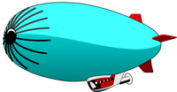 image of blimp