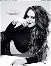 Lohan for Elle UK September-09