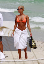 Amber Rose in Miami Beach