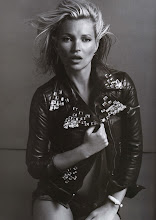 Inez & Vinoodh Shoot Kate Moss for Vogue Paris October