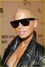 Amber Rose Lip Piercing Proud!!!