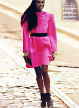 Chanel Iman & Sessilee Lopez in Allure October-09