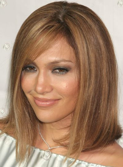what color is jennifer lopez hair 2011. straight hair styles for long