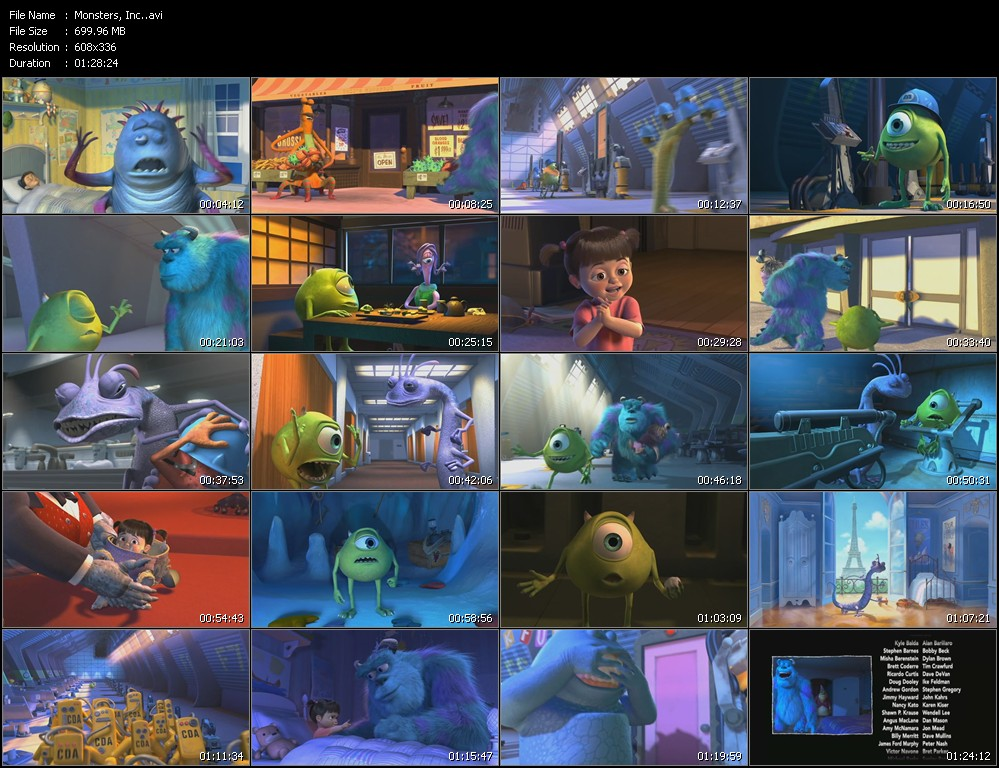 monsters inc boo dvdrip