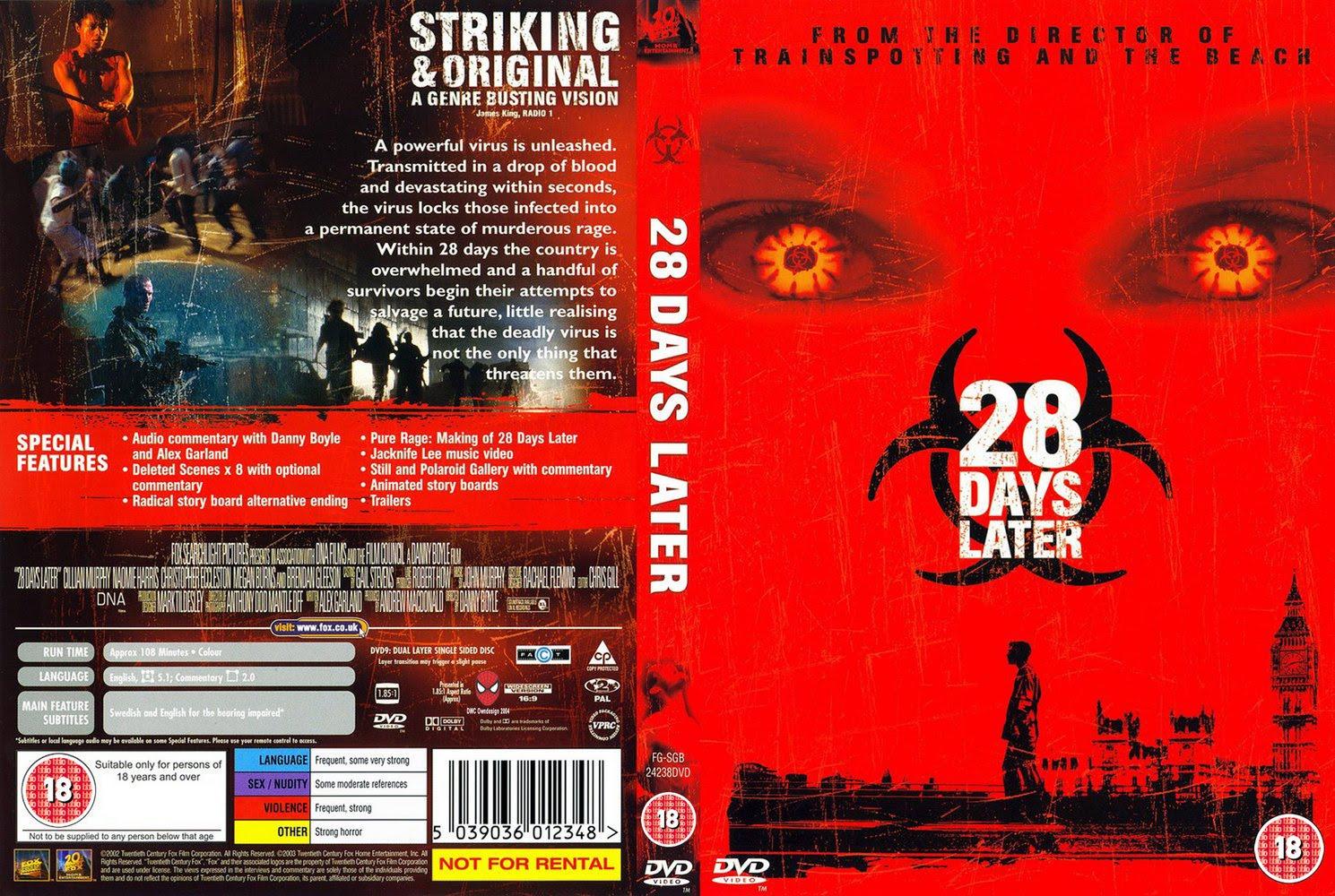 28 дней dvd: