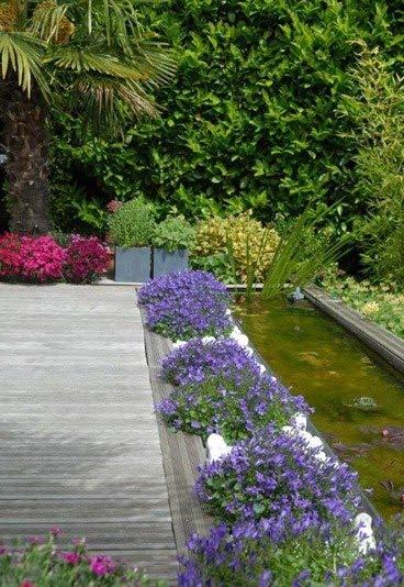 decorando tu espacio estanques en mi jardin. Black Bedroom Furniture Sets. Home Design Ideas