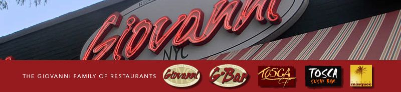 Giovanni &amp; G Bar Blog