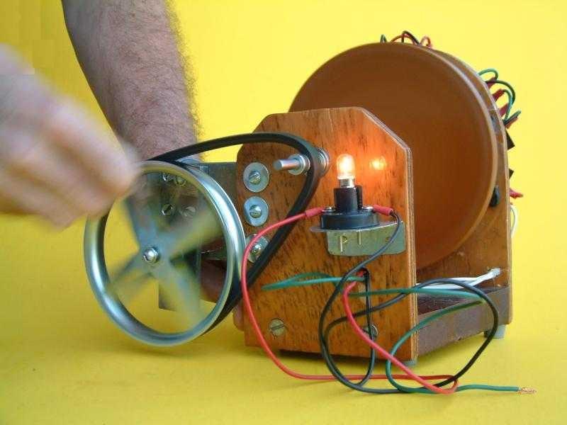 Генератор на электричестве своими руками 585