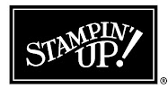 Proud Supporter of Stampin' UP!