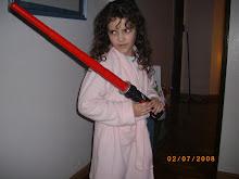 La pequeña ninja...