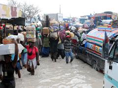 HAITI ..CUANDO LLUEVE