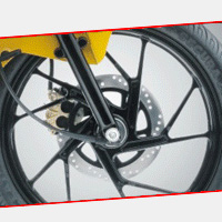 Suzuki Slingshot Multi-Spoke Wheel