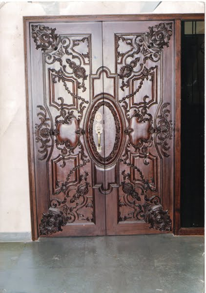 Kerala Home Design Door
