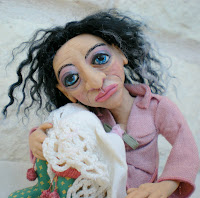 Sarah Lost Her Lover Art Doll
