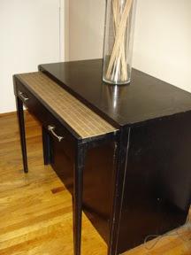 Soup Du Jour: 1940s/1950s Ebony Cabinet Expanding Table Thing ...