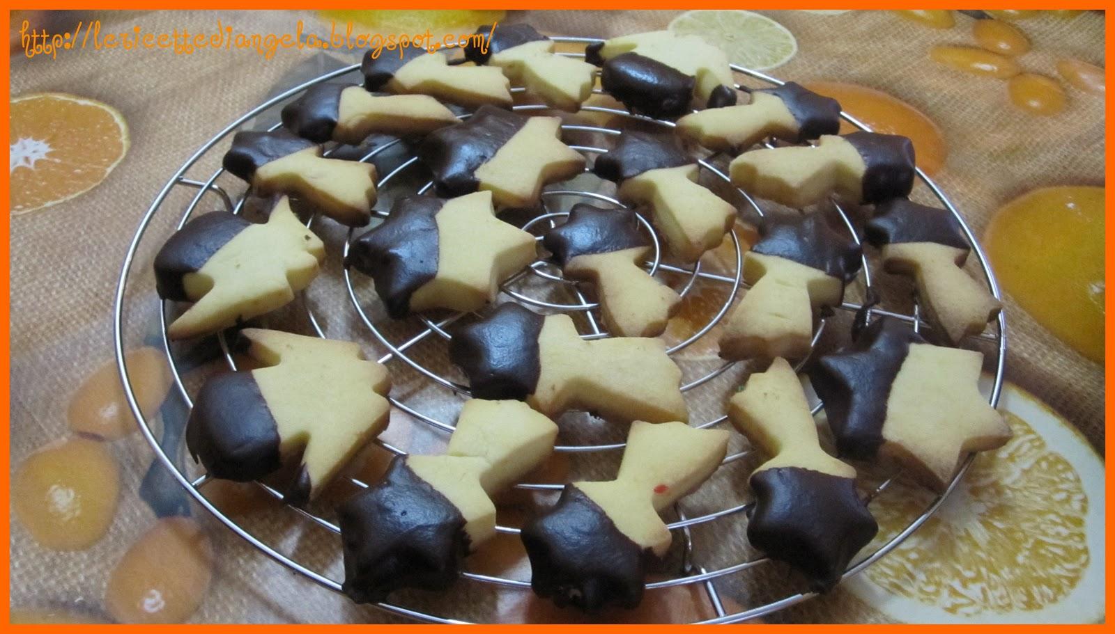 La cucina di Angela: Biscotti ricoperti al cioccolato e la griglia ...