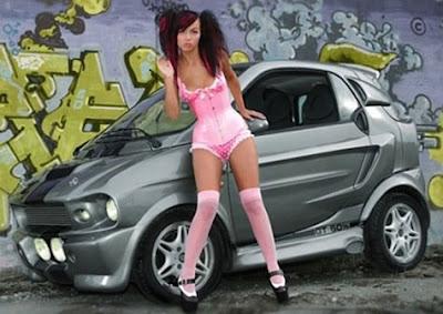 Smart Car Shelby Body Kit