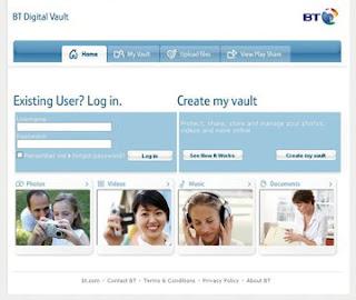 BT Digital vault service complaint