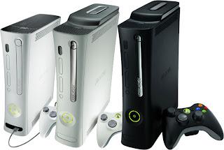 XBOX 360 Arcade, Premium & Elite consoles